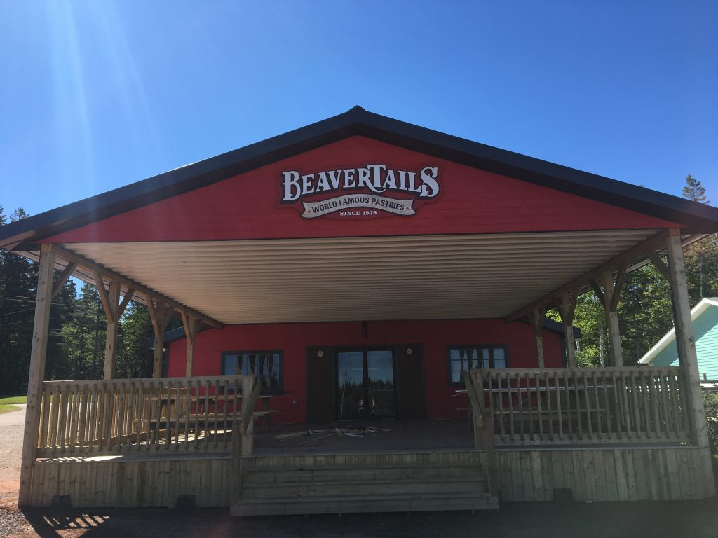 BeaverTails Pastry Cavendish Beach PEI